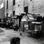 1935-Chozas e desempregados no West Houston e Mercer St