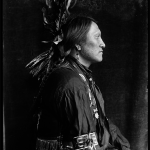 1900-a-Charging Thunder - Sioux Indian