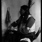 1900-a-Shooting Pieces - Sioux Indian