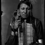 1900-a-Sioux - Amos Little - Sioux Indian