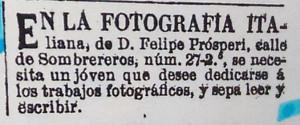 1876-05-25- FARO DE VIGO - anuncio recortado